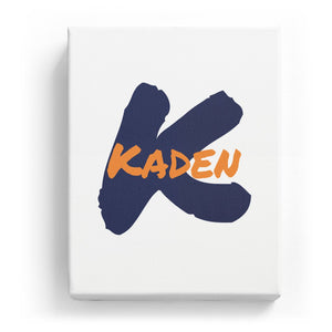 Kaden Overlaid on K - Artistic