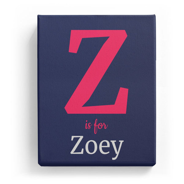 Z is for Zoey - Classic