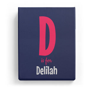 D is for Delilah - Cartoony