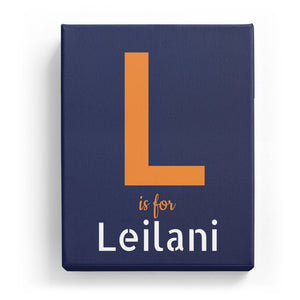 L is for Leilani - Stylistic