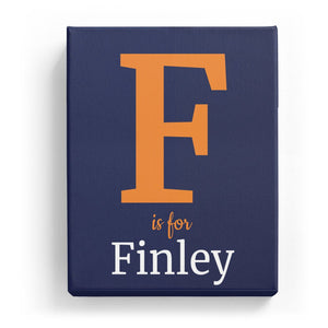 F is for Finley - Classic