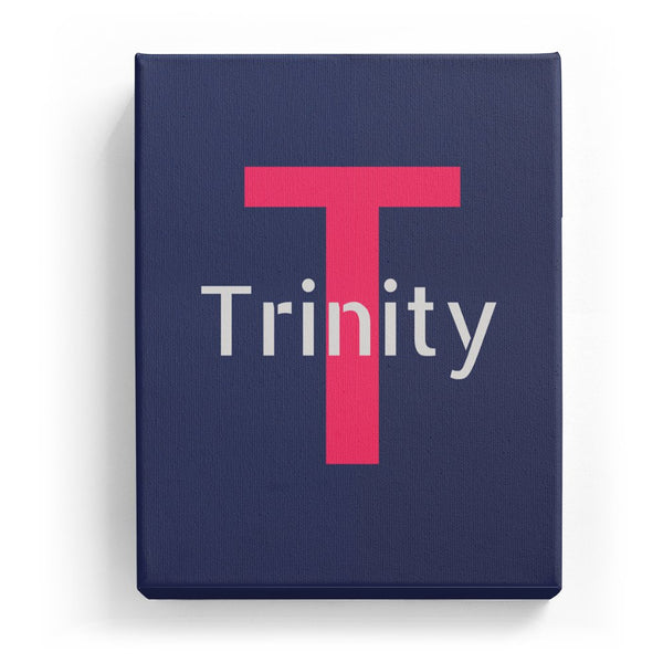 Trinity Overlaid on T - Stylistic
