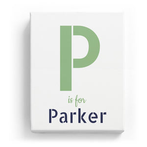P is for Parker - Stylistic