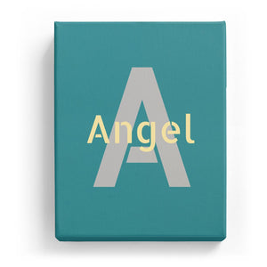 Angel Overlaid on A - Stylistic