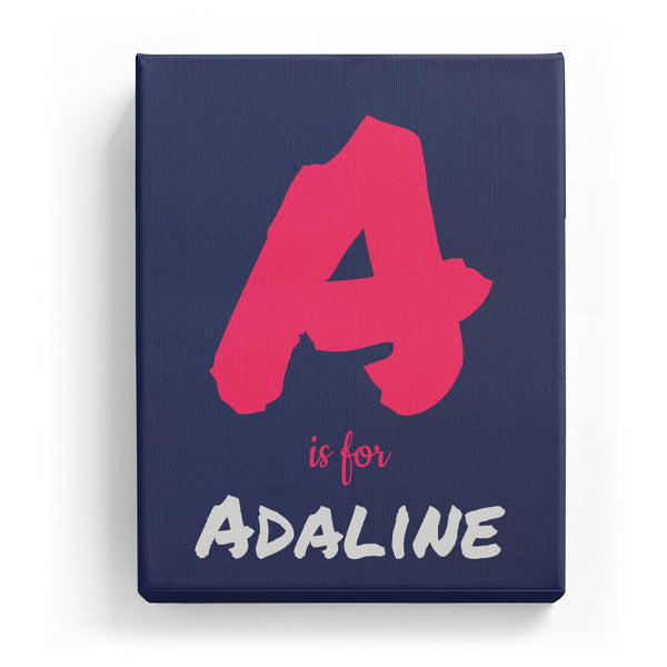 A is for Adaline - Artistic
