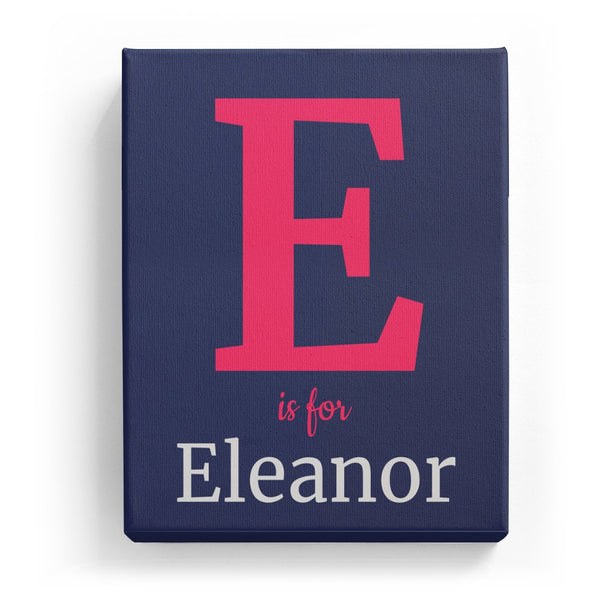E is for Eleanor - Classic