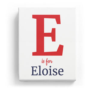 E is for Eloise - Classic