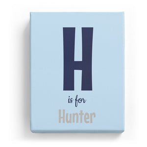 H is for Hunter - Cartoony