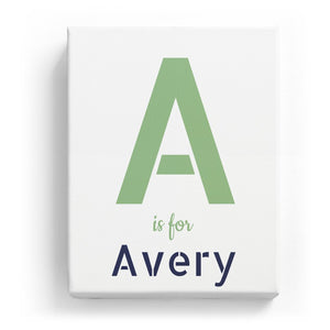A is for Avery - Stylistic