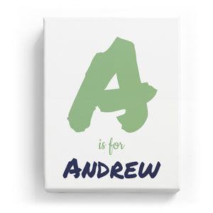 A is for Andrew - Artistic