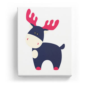 Moose - No Background (Mirror Image)