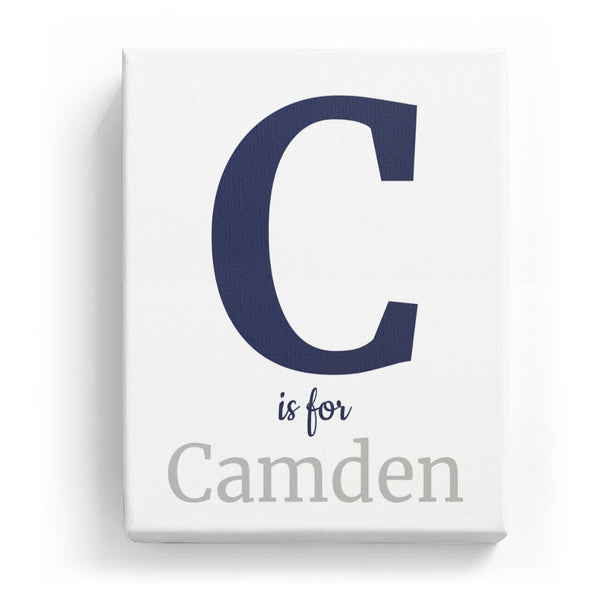 C is for Camden - Classic