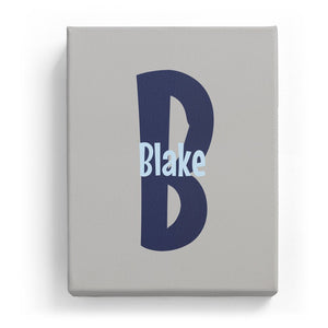 Blake Overlaid on B - Cartoony