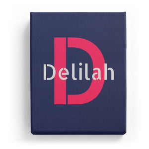 Delilah Overlaid on D - Stylistic