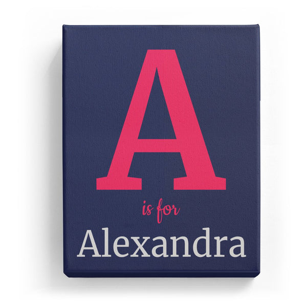 A is for Alexandra - Classic