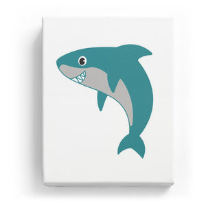 Shark - No background (Mirror Image)