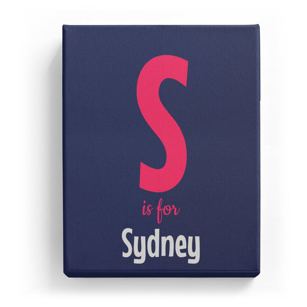 S is for Sydney - Cartoony