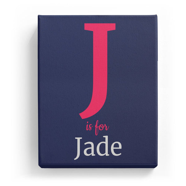 J is for Jade - Classic