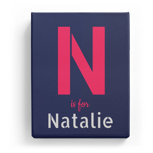 N is for Natalie - Stylistic