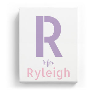 R is for Ryleigh - Stylistic