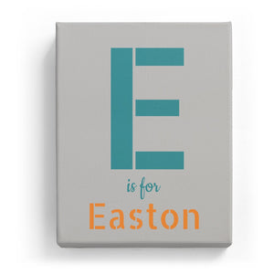 E is for Easton - Stylistic