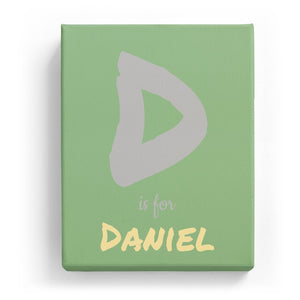 D is for Daniel - Artistic