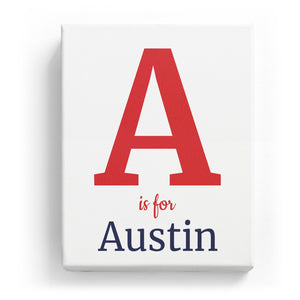 A is for Austin - Classic