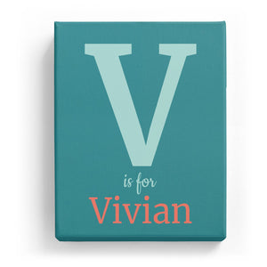 V is for Vivian - Classic