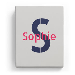 Sophie Overlaid on S - Stylistic