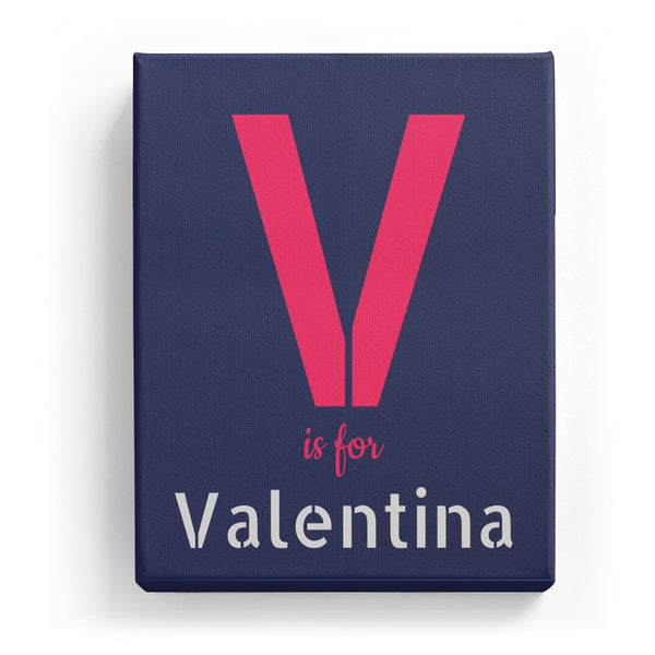 V is for Valentina - Stylistic