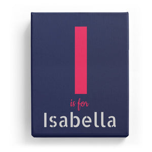 I is for Isabella - Stylistic
