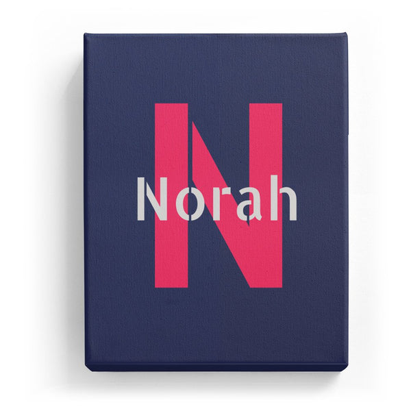 Norah Overlaid on N - Stylistic