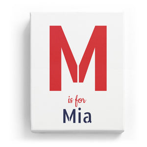 M is for Mia - Stylistic
