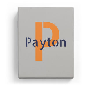 Payton Overlaid on P - Stylistic