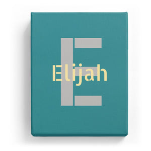 Elijah Overlaid on E - Stylistic