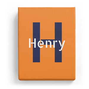 Henry Overlaid on H - Stylistic