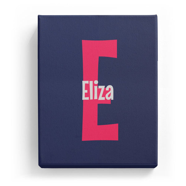 Eliza Overlaid on E - Cartoony