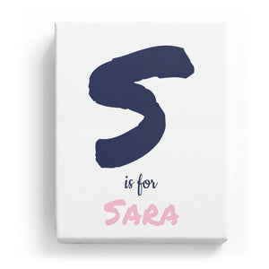 S is for Sara - Artistic