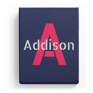 Addison Overlaid on A - Stylistic