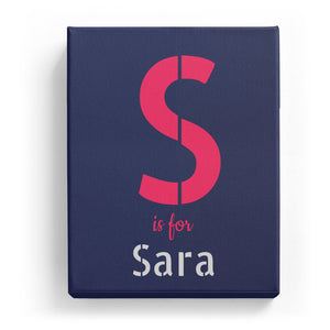 S is for Sara - Stylistic
