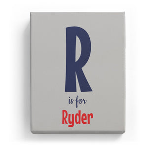 R is for Ryder - Cartoony