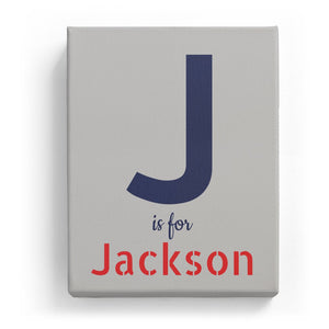 J is for Jackson - Stylistic