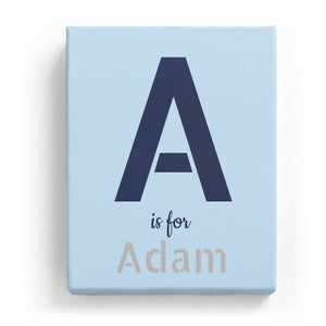 A is for Adam - Stylistic