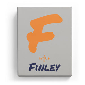 F is for Finley - Artistic
