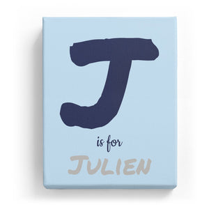 J is for Julien - Artistic