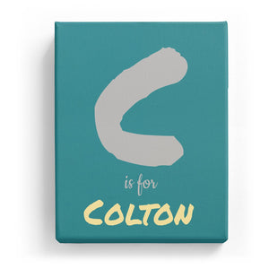 C is for Colton - Artistic