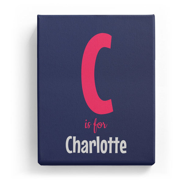 C is for Charlotte - Cartoony