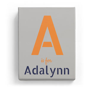 A is for Adalynn - Stylistic