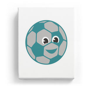 Soccer with a Face - No Background