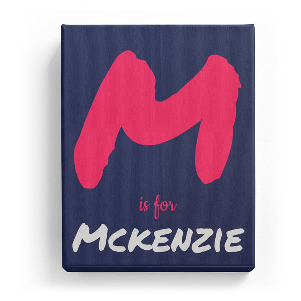 M is for Mckenzie - Artistic